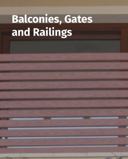 Balconies, Gates and Railings
